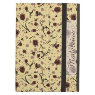 Capa Para iPad Air Caso clássico floral do iPad do vintage moderno
