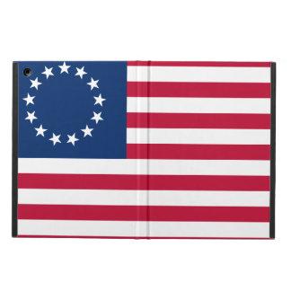Capa Para iPad Air Caso do iPad da bandeira americana de Betsy Ross