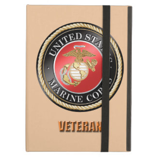Capa Para iPad Air Caso do iPad do veterano do USMC
