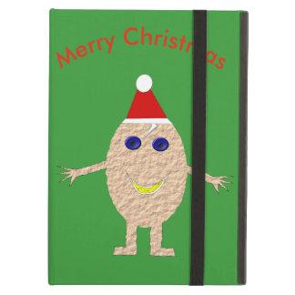 Capa Para iPad Air Caso engraçado do iPad do ovo do Natal