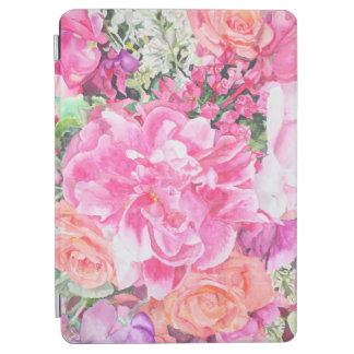 Capa Para iPad Air Caso floral do iPad da aguarela