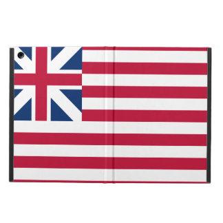 Capa Para iPad Air Caso histórico grande do iPad da bandeira dos E.U.