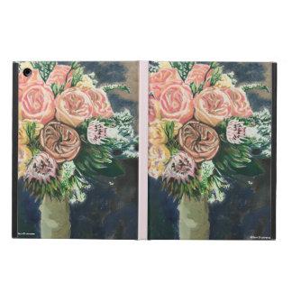 Capa Para iPad Air Caso pintado mão do iPad do buquê floral