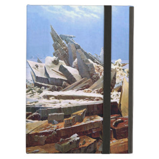 Capa Para iPad Air CASPAR DAVID FRIEDRICH - o mar do gelo 1824