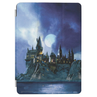 Capa Para iPad Air Castelo   Hogwarts de Harry Potter na noite
