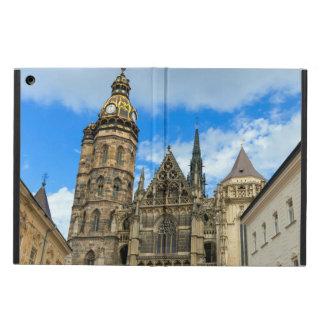 Capa Para iPad Air Catedral do St. Elisabeth em Kosice, Slovakia