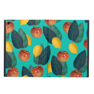 Capa Para iPad Air cerceta das maçãs e dos limões