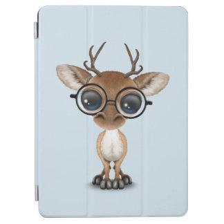 Capa Para iPad Air Cervos Nerdy do bebê que vestem vidros