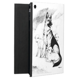 Capa Para iPad Air Céu do cão, o rebanho do mestre