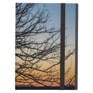 Capa Para iPad Air Céu do inclinação no inverno
