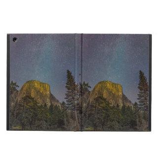 Capa Para iPad Air Céu nocturno do EL Capitan do vale de Yosemite