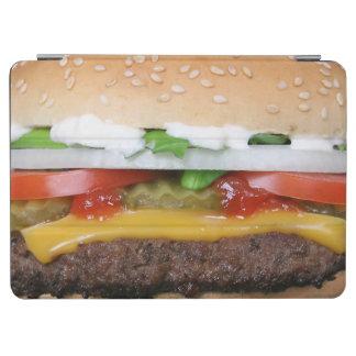 Capa Para iPad Air cheeseburger delicioso com fotografia das
