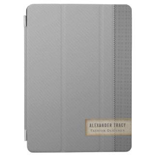 Capa Para iPad Air Cinzas do Dois-tom de Minimalistic