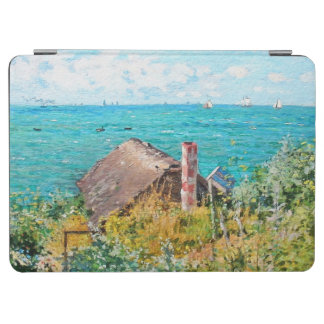 Capa Para iPad Air Claude Monet a cabine em belas artes do