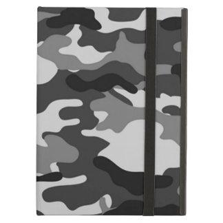 Capa Para iPad Air Cobrir cinzento da camuflagem para o ar do iPad