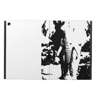 Capa Para iPad Air Cobrir com o elefante preto e branco do impressão