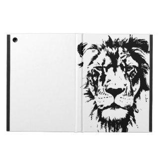Capa Para iPad Air Cobrir com o impressão preto e branco Leo