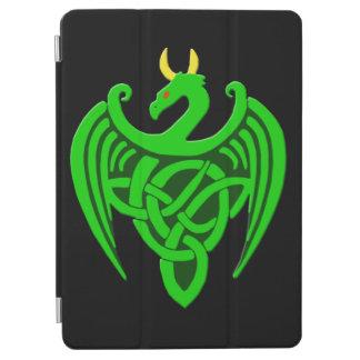 Capa Para iPad Air Cobrir esperto do ar celta verde do iPad do dragão
