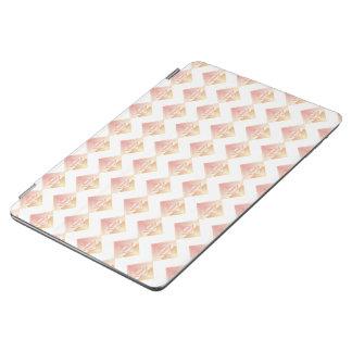 Capa Para iPad Air Cobrir esperto do iPad rosado geométrico do teste