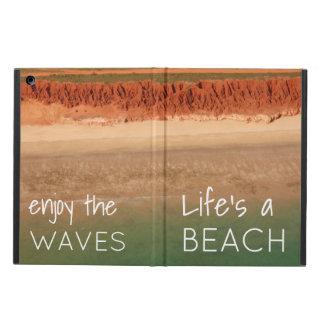 Capa Para iPad Air Cobrir temático da tabuleta da praia com as