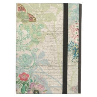 Capa Para iPad Air Colagem floral do vintage