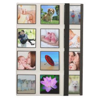 Capa Para iPad Air Colagem quadrada clássica da foto do quadro