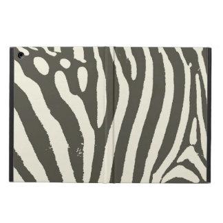 Capa Para iPad Air Contemporâneo moderno do impressão macio da zebra