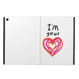 Capa Para iPad Air Coração