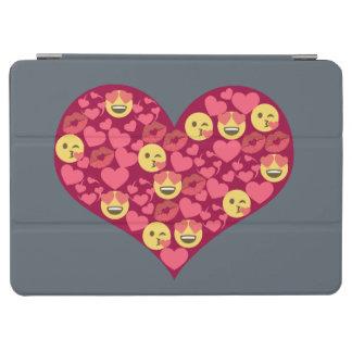 Capa Para iPad Air Coração bonito de Emoji dos lábios do beijo do