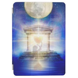 Capa Para iPad Air Coração do templo da lua V058