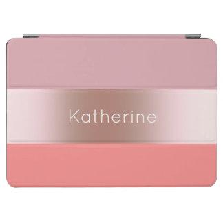 Capa Para iPad Air Coral cor-de-rosa do rosa do ouro do pintinho