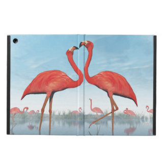 Capa Para iPad Air Corte dos flamingos - 3D rendem