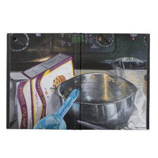 Capa Para iPad Air Cozimento no exemplo acrílico do iPad da pintura