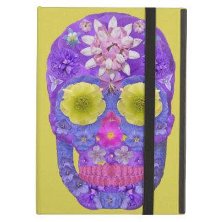 Capa Para iPad Air Crânio 5 da flor