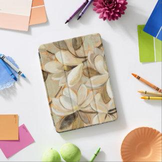 Capa Para iPad Air Creme da simplicidade da magnólia