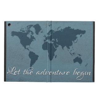 Capa Para iPad Air Deixe a aventura começar