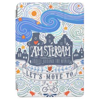 Capa Para iPad Air Deixe-nos mover-se para Amsterdão