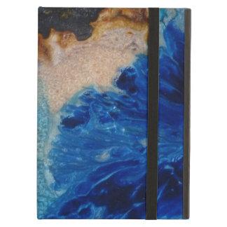 Capa Para iPad Air Derramar azul da cor