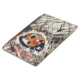 Capa Para iPad Air Desenho estilizado de um joaninha vermelho
