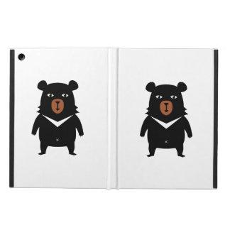 Capa Para iPad Air Desenhos animados do urso preto