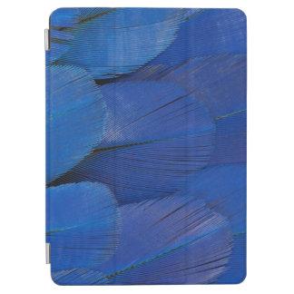 Capa Para iPad Air Design azul da pena do Macaw do jacinto