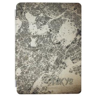 Capa Para iPad Air Design do vintage do mapa das construções das ruas