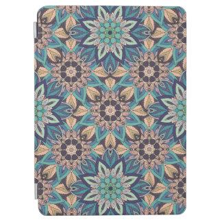 Capa Para iPad Air Design floral do teste padrão do abstrato da