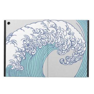 Capa Para iPad Air Design japonês da onda do impressão dos trabalhos
