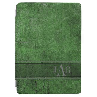Capa Para iPad Air Design rústico do Livro Verde do Grunge