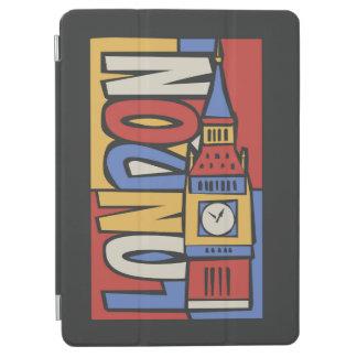 Capa Para iPad Air Design vibrante de Londres, Inglaterra   Handrawn