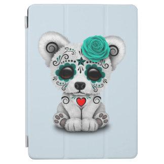 Capa Para iPad Air Dia azul do urso polar do bebê inoperante