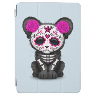 Capa Para iPad Air Dia cor-de-rosa da pantera preta inoperante Cub