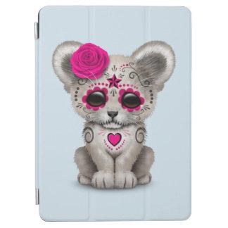 Capa Para iPad Air Dia cor-de-rosa do leão Cub inoperante