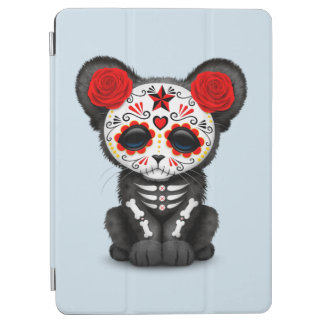 Capa Para iPad Air Dia vermelho da pantera preta inoperante Cub